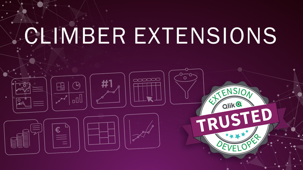 The Climber Finance Report Extension is TED accredited!