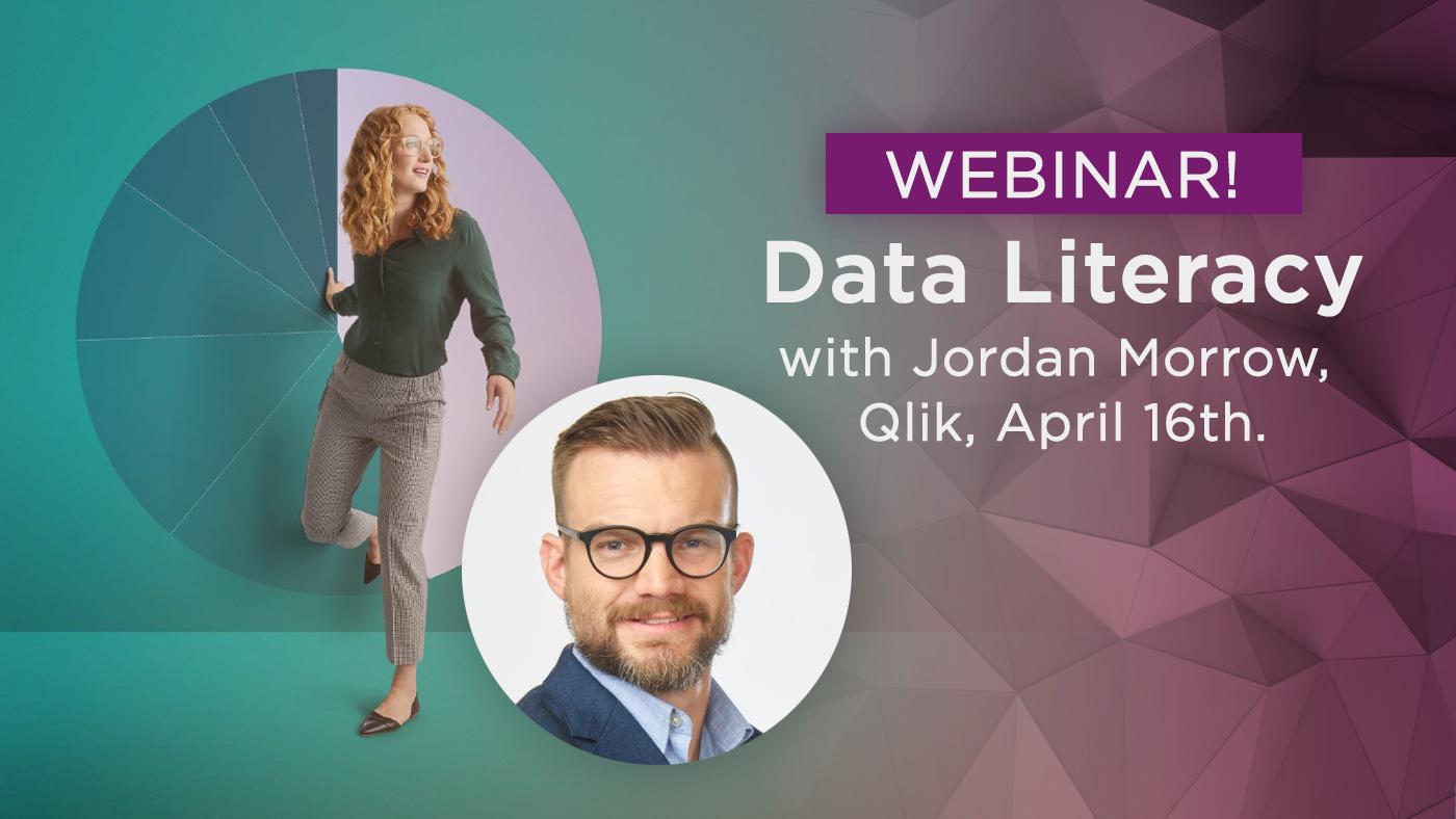Climber Webinar Data Literacy with Jordan Morrow April 16th