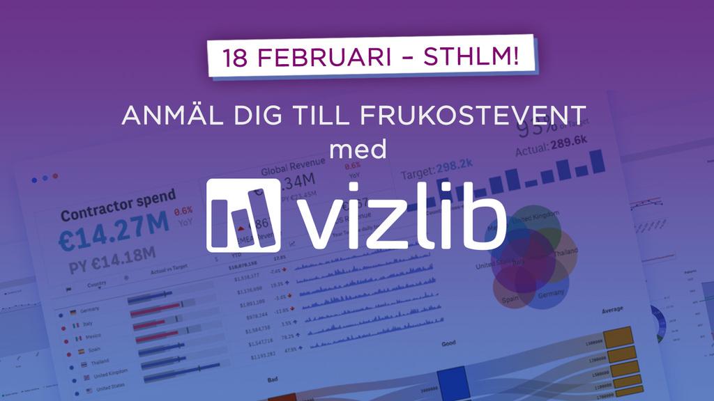 Vizlib – your shortcut to Self-Service success in Qlik Sense