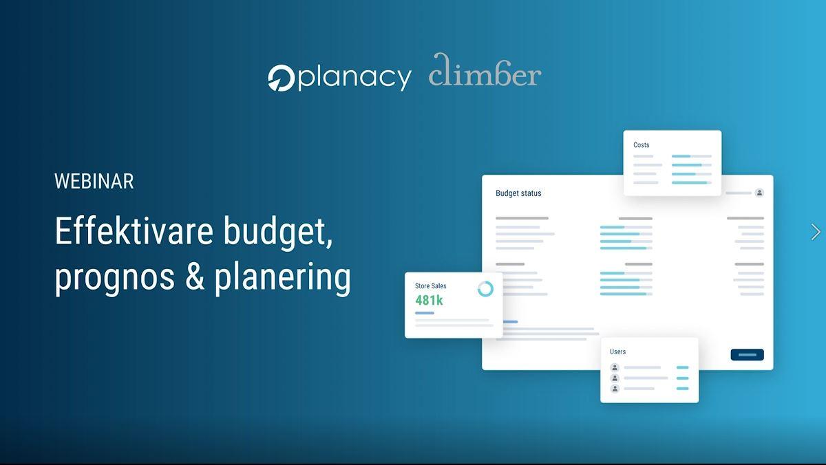 Climber_Planacy_Webinar_Effektivare Budget och prognos
